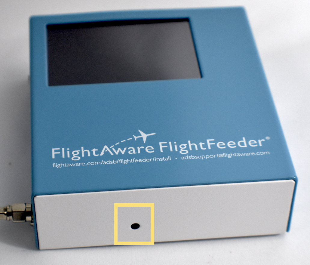 FlightFeeder 10 GPS LED location