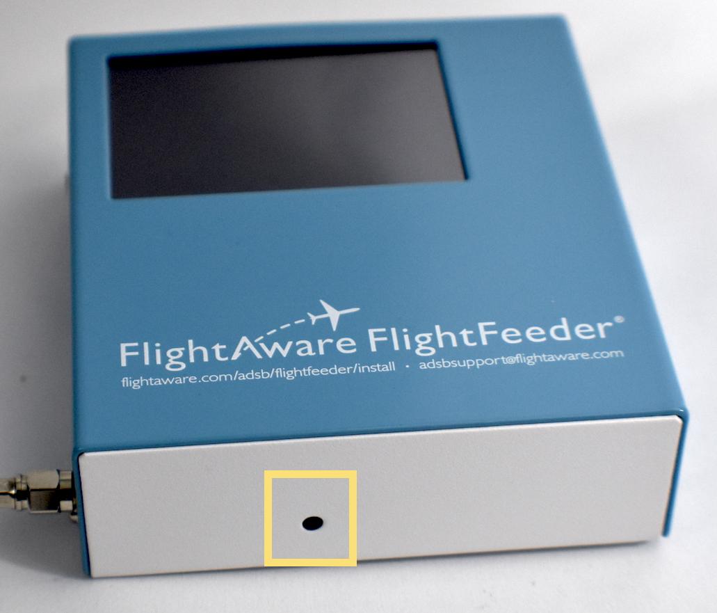 FlightFeeder 10 GPS LED location